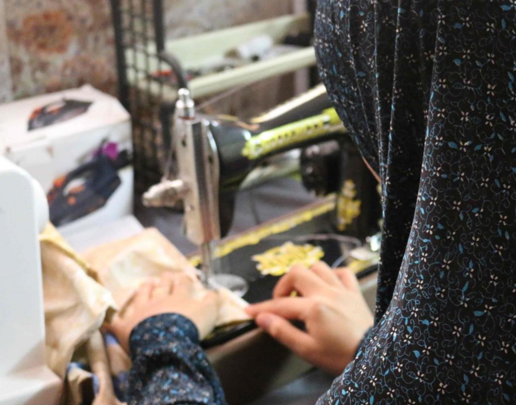 Dalia sewing