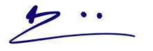 Charles Benjamin's Signature